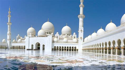 Mosque Wallpaper by Abu Dhabi Islamic Architecture Architecture Sunlight
