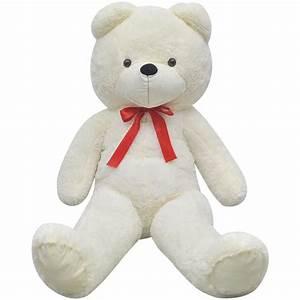 Ours En Peluche Xxl : acheter ours en peluche doux xxl 175 cm blanc pas cher ~ Teatrodelosmanantiales.com Idées de Décoration