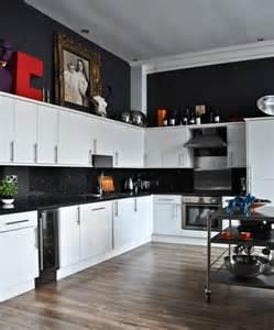 black and white tile kitchen ideas white and black kitchens captainwalt