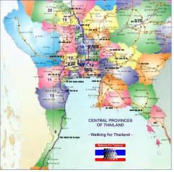 Thailand Map Provinces