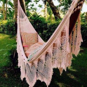 Hippie Hammock by Beautiful Fringe Hammocks Macrame Crochet The Best