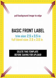 The basic label design template grogtag for Free wine label maker