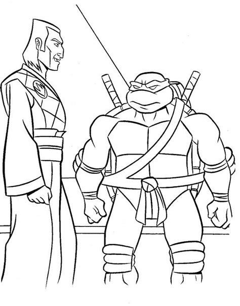 Ninja Turtle Talk On Friends Coloring Page Ninja Turtle