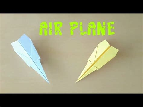 easy paper airplane     paper air plane