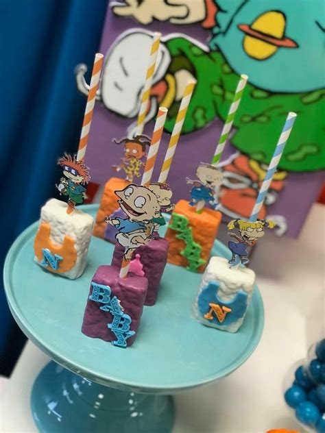Rugrats Baby Shower Rig Rats Theme Twins Rugrats Theme Pinterest Rigs