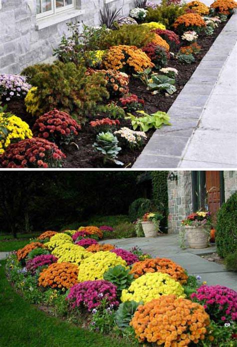 Fall Curb Appeal  Home Design