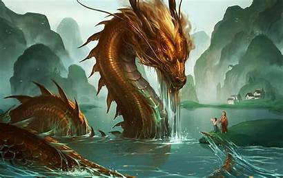 Dragon Artwork Fantasy Dragao Awesome Japanese Water