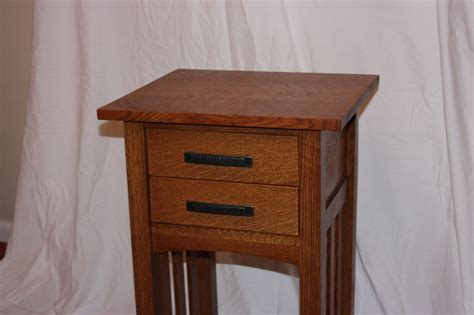 arts  crafts mission style nightstand  brandon