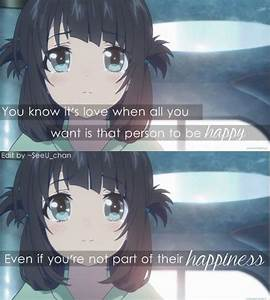 Anime : nagi no asukara | Anime quotes | Pinterest | It ...
