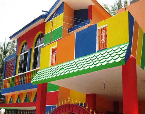 color combination for exterior house painting services shahjahan arts n interiors interior exterior