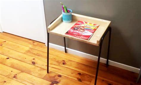 fabriquer bureau bois diy un bureau d 39 enfant en bois et métal de récupération