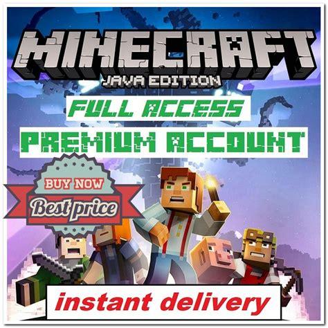 Minecraft Java Edition Minecraft Java Edition⭐premium
