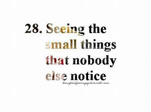Small Things Quotes. QuotesGram