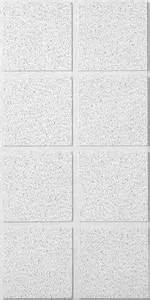 usg radar illusion 2 39 x 4 39 acoustical 8 square lay in ceiling tile panel at menards