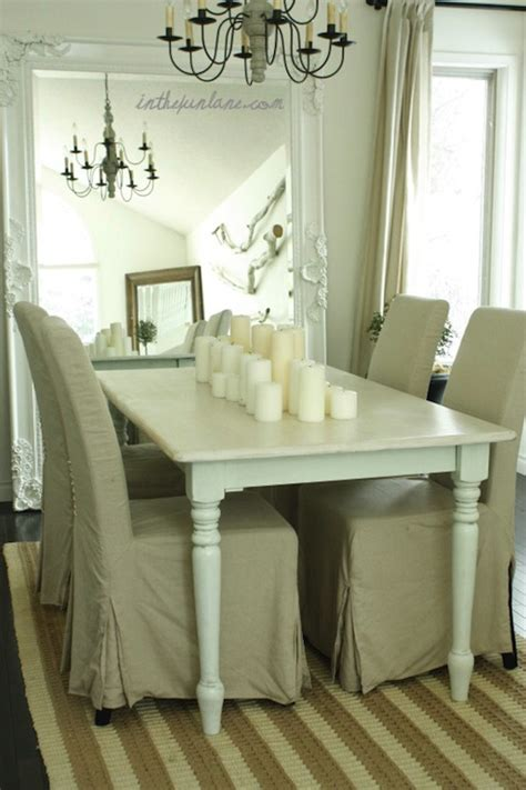shabby chic dining room mirror farmhouse dining table transitional dining room kathy collins