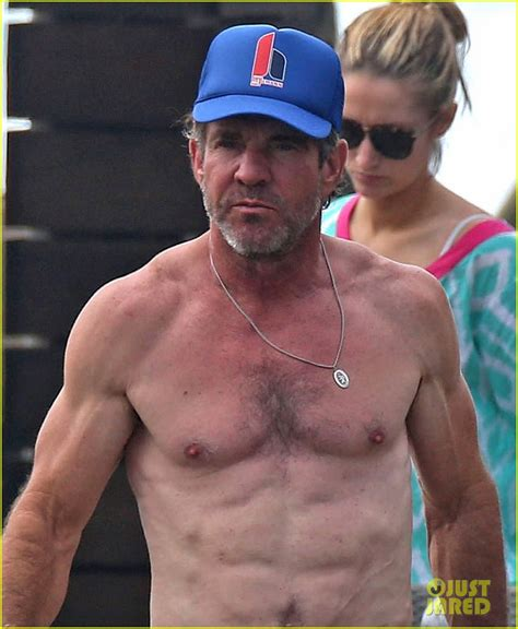 dennis quaid weather movie dennis quaid goes shirtless looks incredibly ripped at 61