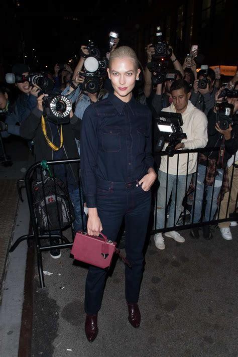 Karlie Kloss The Calvin Klein Show Spring Summer