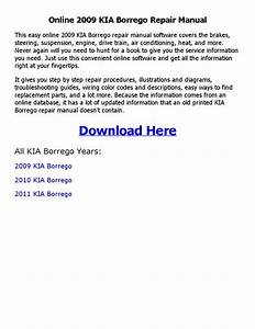 2009 Kia Borrego Repair Manual Online By Chaudhary
