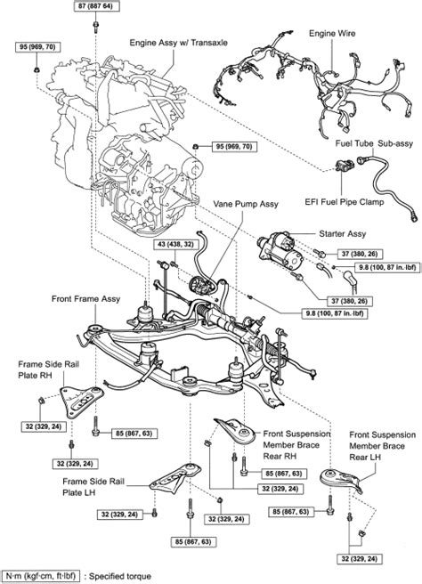 2005 Avalon 3 5l Engine Diagram by Howtorepairguide How To Replace 2gr Fe Engine On