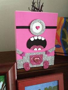 Valentine Minion box!! | Valentines | Valentine boxes for ...