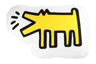 keith haring dog pillow  kinetics junior hipster