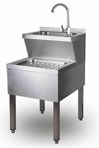 Waschbecken 60 X 30 : handwaschbecken ausgu becken waschbecken ausguss 50 x 60 x 85 cm edelstahl ebay ~ Markanthonyermac.com Haus und Dekorationen