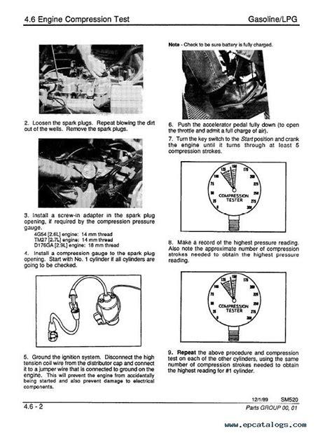 Clark GCS/GCS SM520R Service Manual PDF