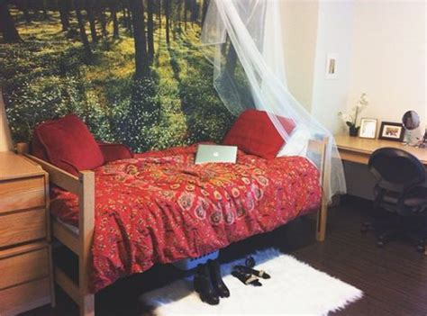 whimsical dorm room massachusetts college  art