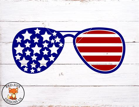 This product is digital file in svg format only. American Flag Glasses SVG Home of the free because of the ...