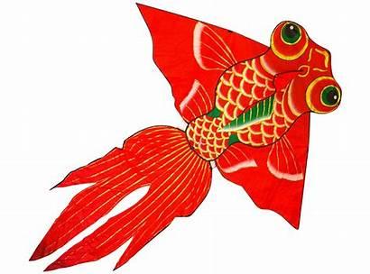 Fish Clipart Goldfish Single Transparent Kite Giant