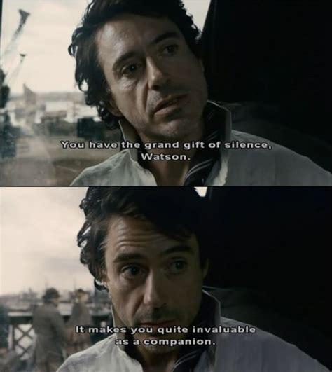 Sherlock Holmes Movie Quotes Tumblr