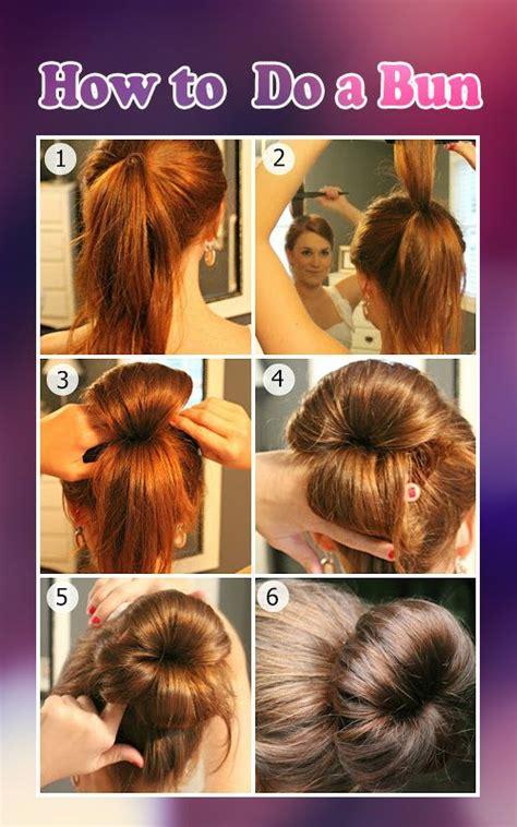 bun  donut hair styles hair tutorial chic hairstyles