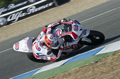 Honda Superbike Racing Van Der Mark Back In Action