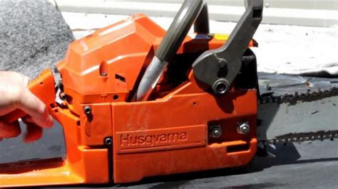 """Husqvarna 51 Chainsaw with 20"""" bar/chain review   YouTube"""
