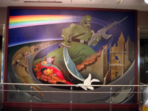 denver international airport murals in order denver airport coffin murals denver airport mural by