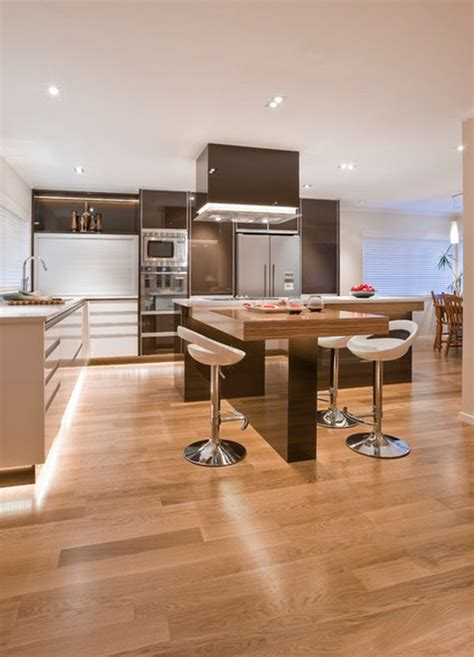 30 kitchen islands with tables a simple but clever combo - Kitchen Island Plans With Seating