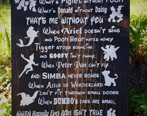unique disney sign ideas  pinterest disney sayings