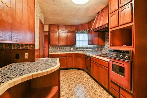 kitchen counter tile time capsule house with spectular 1970s mediterranean 1000
