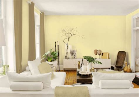 Light Yellow Paint Living Room