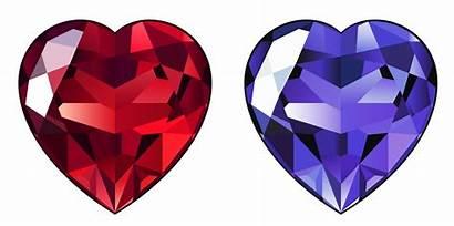 Diamond Transparent Clipart Hearts Heart Clip Diamonds