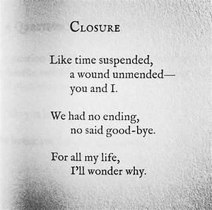 Closure Quotes ... Closure Death Quotes