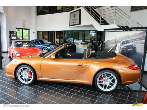 gold porsche convertible 2009 nordic gold metallic porsche 911 carrera 4s cabriolet