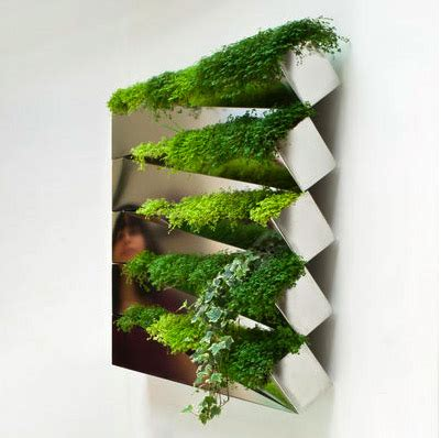 indoor herb gardens and salad walls inspiration