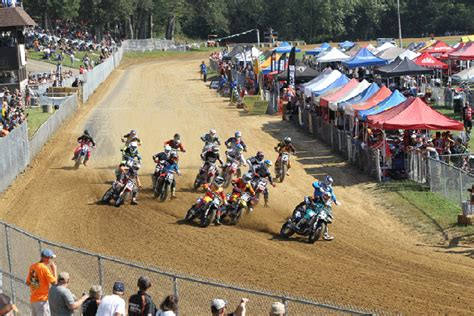 Types Of Motorcycle Racing- Flat Track Racing » Bikesmedia.in