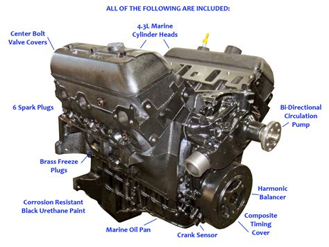 vortec base marine engine  current replacement