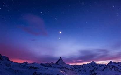 Sky Stars Night Wallpapers Desktop Pc Background