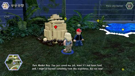 Lego Jurassic World Red Brick 12 Attract Studs Location