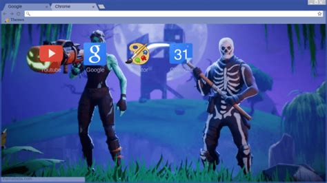 fortnite holloween background chrome theme themebeta