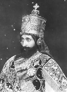 Emperor Haile Selassie I of Ethiopia