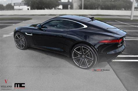 Jaguar F-type Coupe On Black Vellano 22s